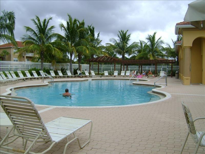 Beachwalk heated pool